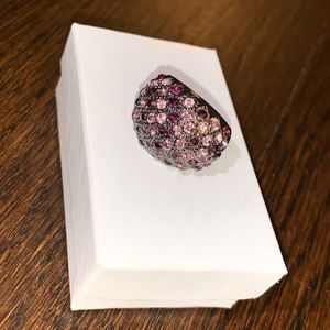 Purple ring with gems